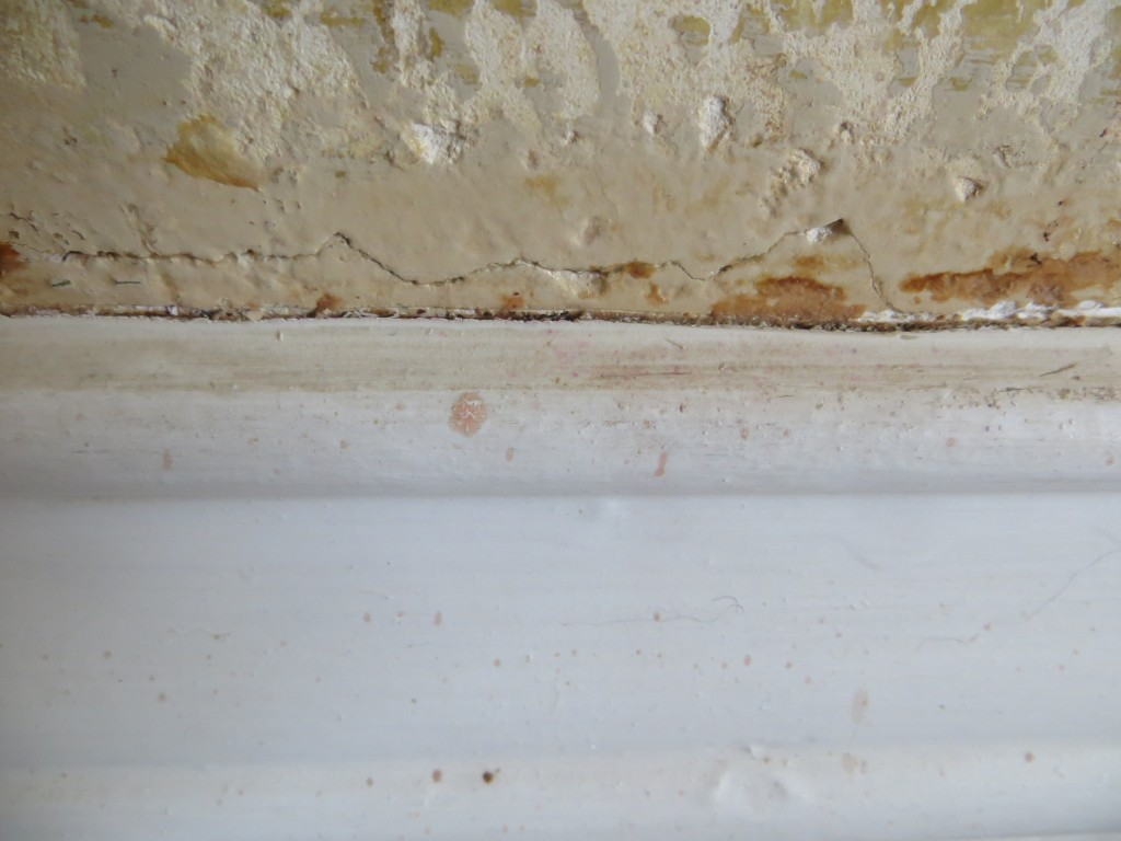 Wall/baseboard joint