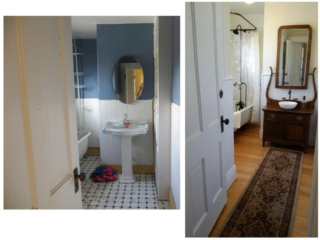 Bathroom full Before and After